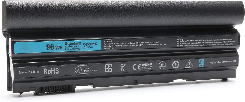 Novelty 9Cell New T54FJ Laptop Battery for Dell Latitude E6420 E6430 E6520 E6530 E5420 E5520 E5430 E5530, fit M5Y0X 2P2MJ 312-1325 312-1165 PRV1Y