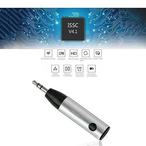 TKSTAR transmisor receptor Bluetooth 4.1, emisor y receptor inalámbricos toma 3,5 mm/