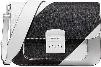 Michael Kors Womens Shoulder Bag, Opticwht/blk - 30S9SS9L3L