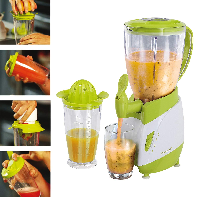 Prensa frutas, cítricos y coctelera 3 en 1 + licuadora con grifo ...