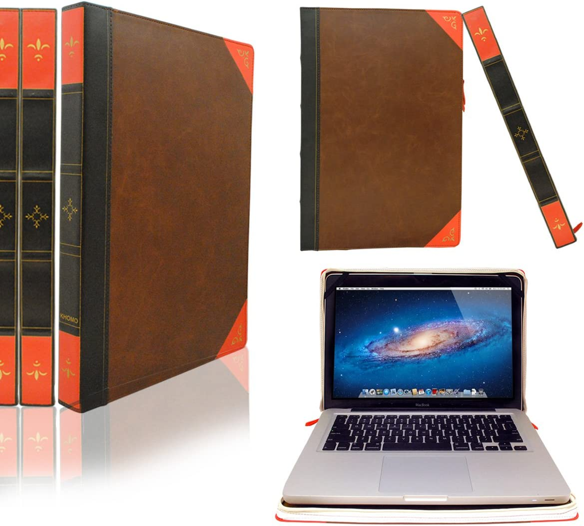 Stealthy leather case for laptop
