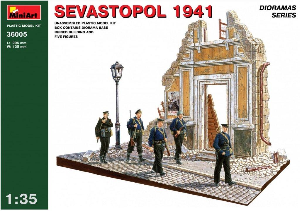 MiniArt 36005 - Sevastopol 1941 MIN-36005