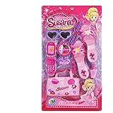 Mode Beauté Jeux d'imitation Set Kit de maquillage jouet pour enfants