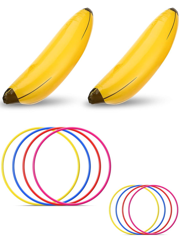 Norme 10 Piezas de Plátano Inflable Juego de Fiesta de Despedida ...