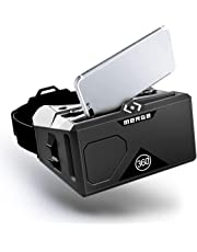 MERGE VR/AR Goggles (EU Edition) - Virtual and Augmented Reality Headset compatible with Android and iPhone - Adjustable Lenses, Dual Input Buttons, Soft and Comfortable, For Kids 10+