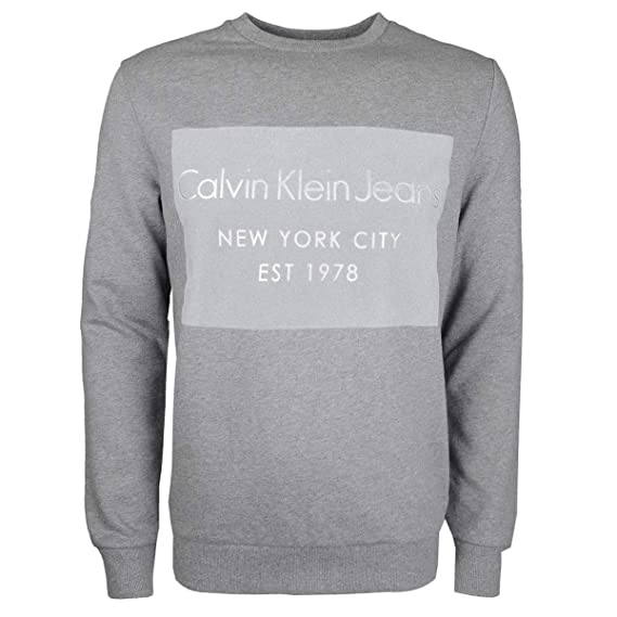 7fbf550ec85 Calvin Klein - L S Hayto Crew Sweat