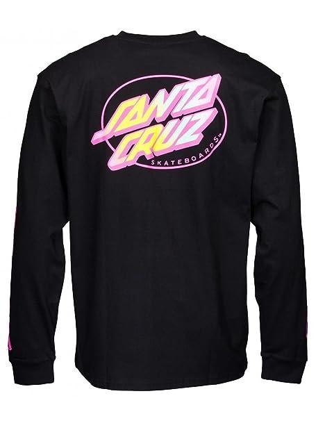 Santa Cruz Camiseta Oval Dot Negro (XXL, Negro)