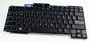 Dell New Genuine Latitude D531 OEM Black Keyboard 87 Key French Canadian Single Pointing Replacement HY241 Key Keypad