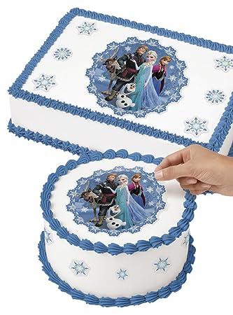 Amazoncom Wilton 7104502 Disney Frozen Edible Images Cake