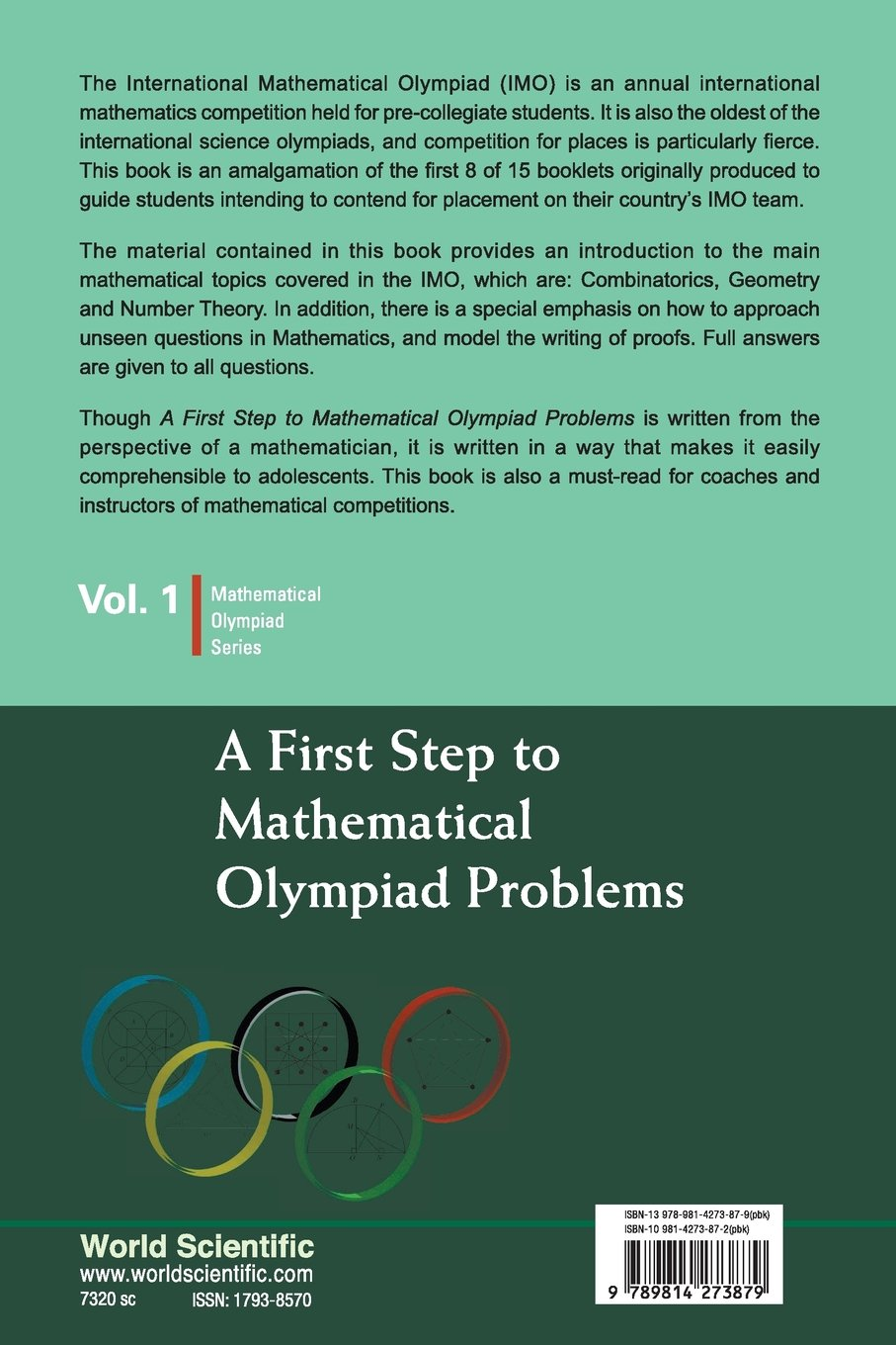 Buy First Step To Mathematical Olympiad Problems, A (Mathematical ...