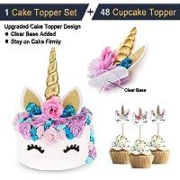 Innexfield Unicorn Cake Topper Set