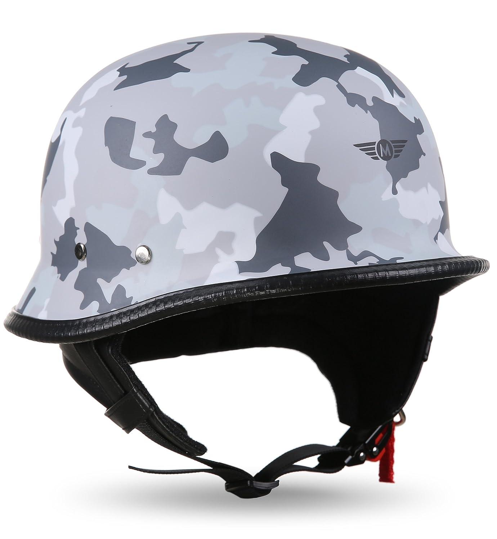 Moto Helmets, D33-Set, casco da moto/motorino, stile chopper