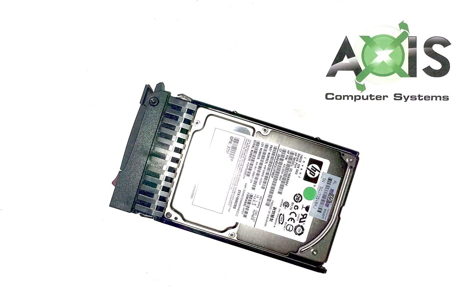 HP/Compaq DG146ABAB4 146GB 10000 RPM 2.5 Inch Serial Attached SCSI SFF Hot-Swap Hard Drive with Tray. (Renewed)