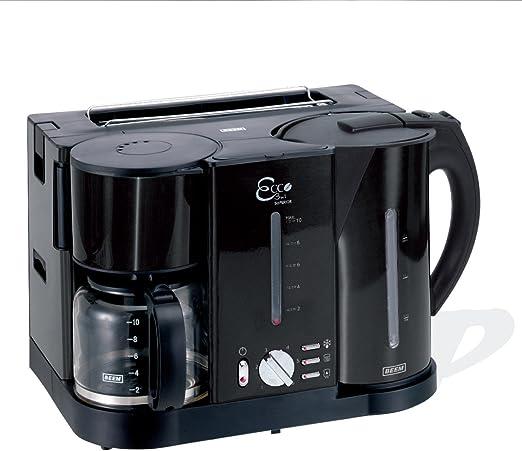 1 BEEM Frühstücks Center Kaffeemaschine Wasserkocher Toaster