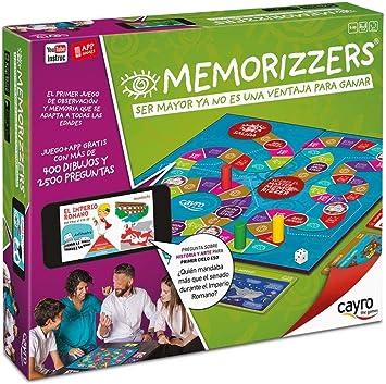 Cayro - Memorizzers - Juego de Habilidades cognitiva e inteligencias múltiples - Juego Infantil - Juego de Mesa - (714): Amazon.es: Juguetes y juegos