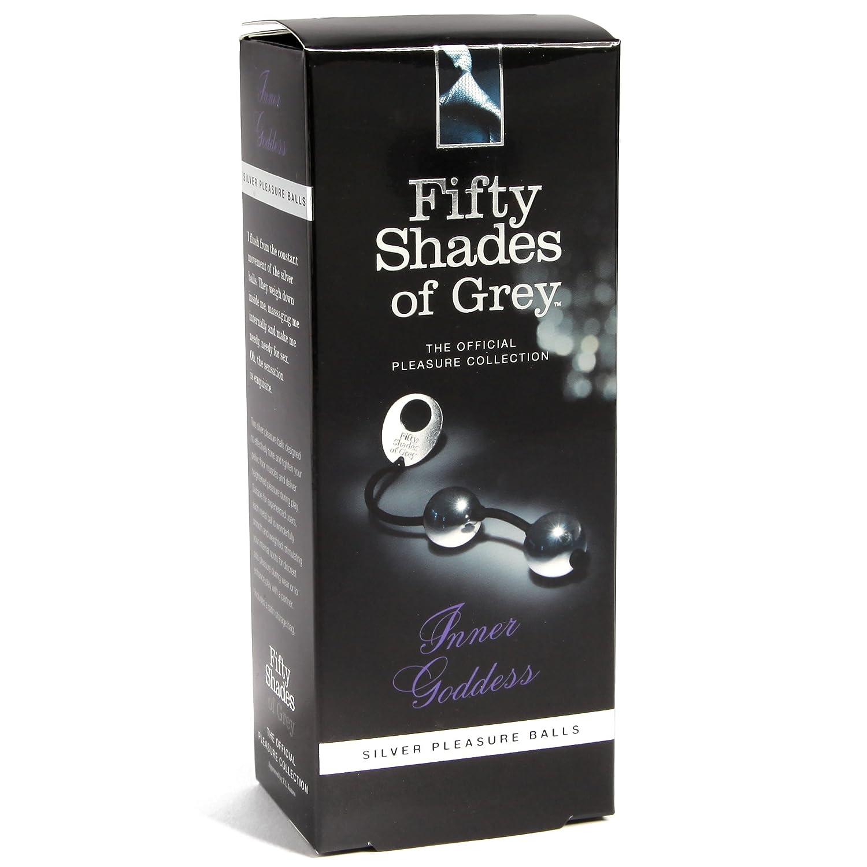 Amazon.com: Fifty Shades of Grey Inner Goddess Silver Metal Pleasure Balls:  Health & Personal Care