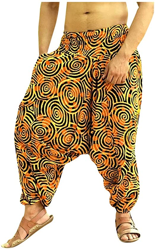 Pantalones Largos Casuales para Hombre Tallas Grandes Hip Hop Pantalones de Yoga Jogging Fitness Deportivo Pantalon Transpirable C/ómodo Pantalones de Playa riou
