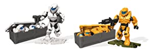 Mega Construx Halo Spartan Armor Customizer Pack Building Set