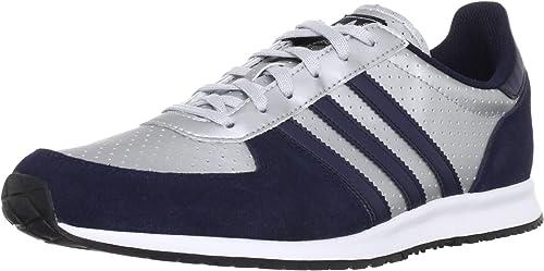 Adidas Adidas ADISTAR RACER Argent Bleu Marine Q20713 T:45 1