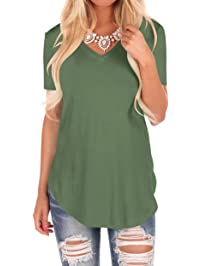 Women S Tops Tees Amazon Com