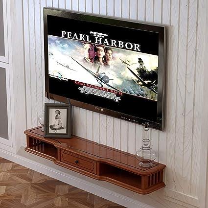 TV Rack Consola para Televisor TV con Mueble de Pared, 100 cm: Amazon.es: Deportes y aire libre