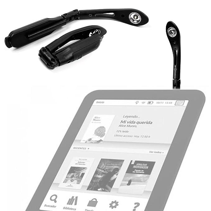 DURAGADGET Luz LED De Lectura para eReader BQ Fnac Touch Light 2 ...