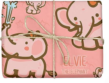 Amazon Com Elvie The Elephant Design Gift Wrapping Paper Baby