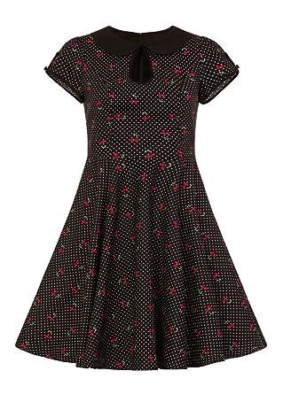 e92db576342 Hell Bunny Sophie Retro Mid Dress  Amazon.co.uk  Clothing