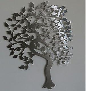 Buy Black Metal Tree Wall Art - Wrought iron - Home Decor -Tree ...