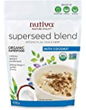 Nutiva Organic Superseed Blend, Coconut, 10 Ounce
