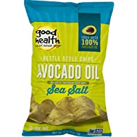 Good Health Avocado Oil Kettle Style Chips with Sea Salt 5 oz. Bag (3 Bags)