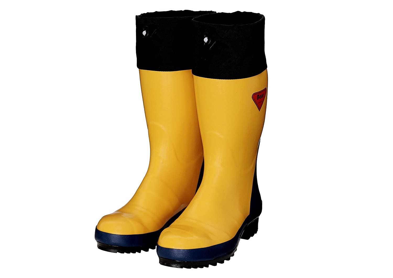 シバタ工業 セーフティベアー#500 安全長靴 イエロー 27.0cm AB071 B01GPU53GO