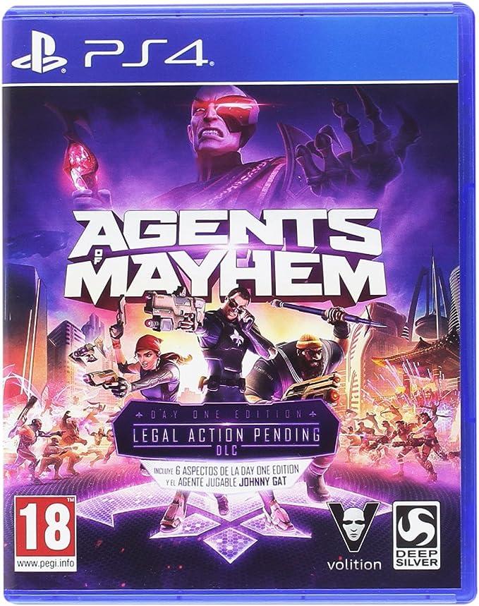 Agents Of Mayhem - Day One Edition: Amazon.es: Videojuegos