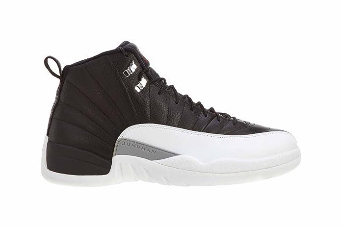 61b24fd312a Amazon.com | NIKE Mens Air Jordan 12 Retro Playoff Leather Basketball Shoes  | Basketball