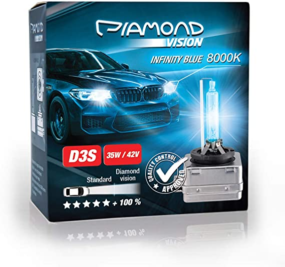 2x D3s 35w 42v 8000k Diamond Vision Hid Bi Xenon Brenner Whitevision White Weiß Super Extrem Hell Laser Kit Nightbreaker Extreme Vision Ultra Blue Hyper Duobox Gasentladungslampe Pk32d 5 Auto