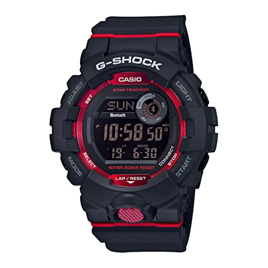 Casio Reloj Digital para Hombre de Cuarzo con Correa en Resina GBD-800-1ER: Amazon.es: Relojes