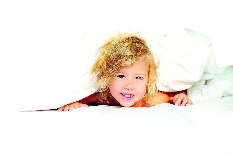 Clevamama - Toilet Training Sleep Mat - Waterproof Bed Protector in Tencel - Pink : Baby