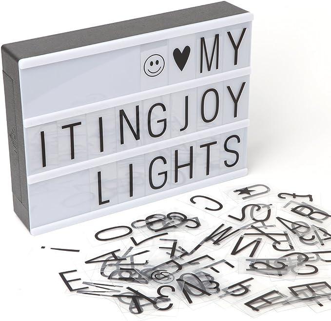 Cajas de luz LED A4 Cartas de bricolaje, ITingjoy Cajas de luz ...