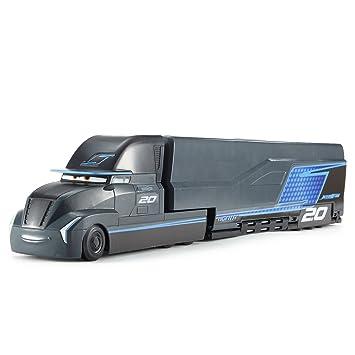 Cars Supertransformación Jackson Storm, coches de juguete (Mattel FCW000)