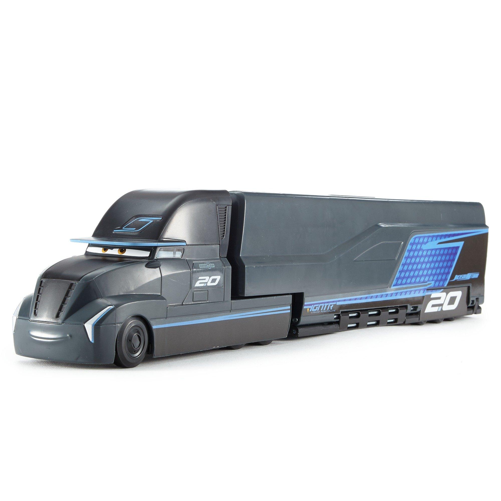 Disney Pixar Cars 3 Jackson Storm's Transforming Hauler Playset