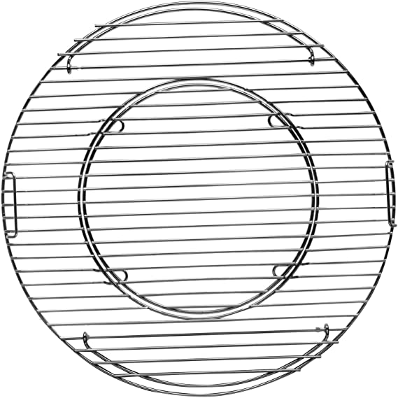 Tepro – Parrilla, Principal somier (47 cm Sistema Redondo, Chrome, 43,5 x 43,5 x 4,5 cm, 8569
