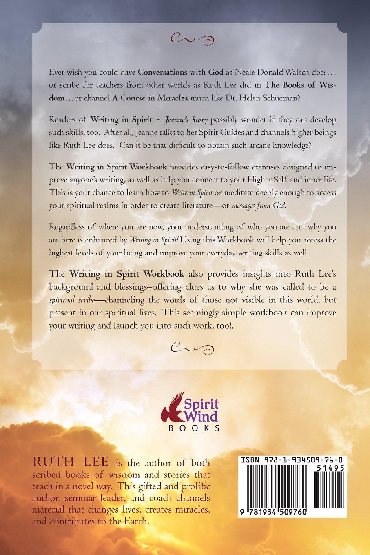 Workbooks spiritual gifts workbook : Writing in Spirit Workbook (Volume 2): Ruth Lee: 9781934509760 ...