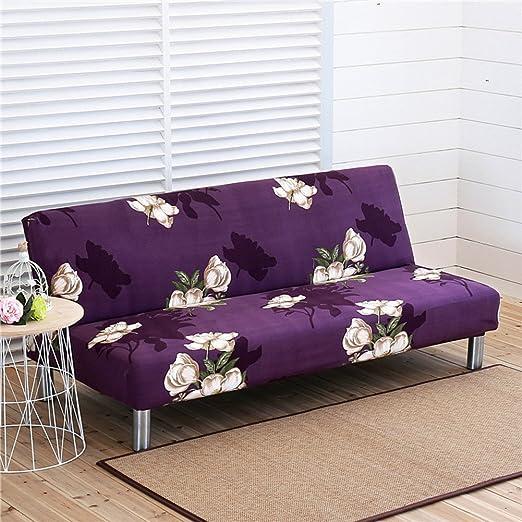 DW&HX Sin Brazos Stretch Funda para sofá, Estampados Florales ...