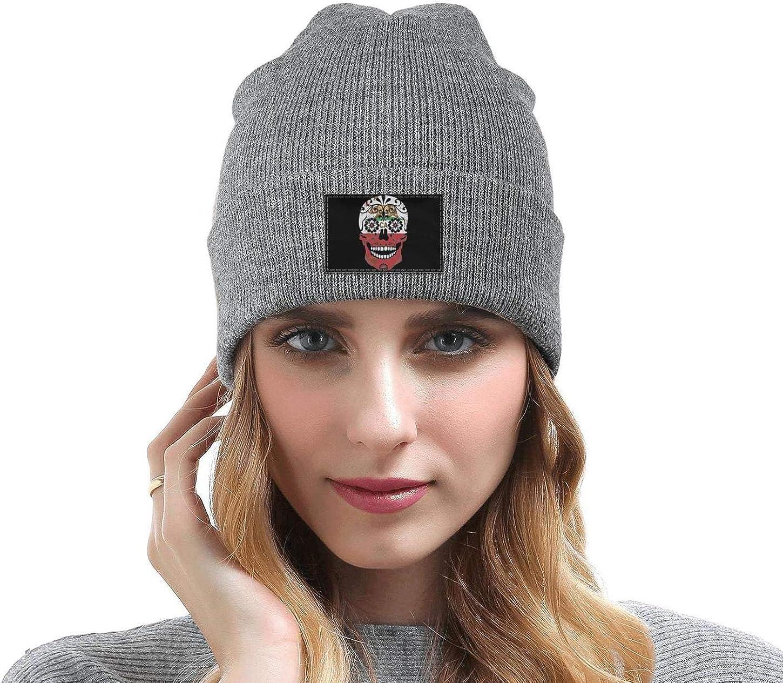 FYFYOK Mens Slouchy Beanie Hat Toboggan Hats California Bear Flag Shantou Woolen Cap