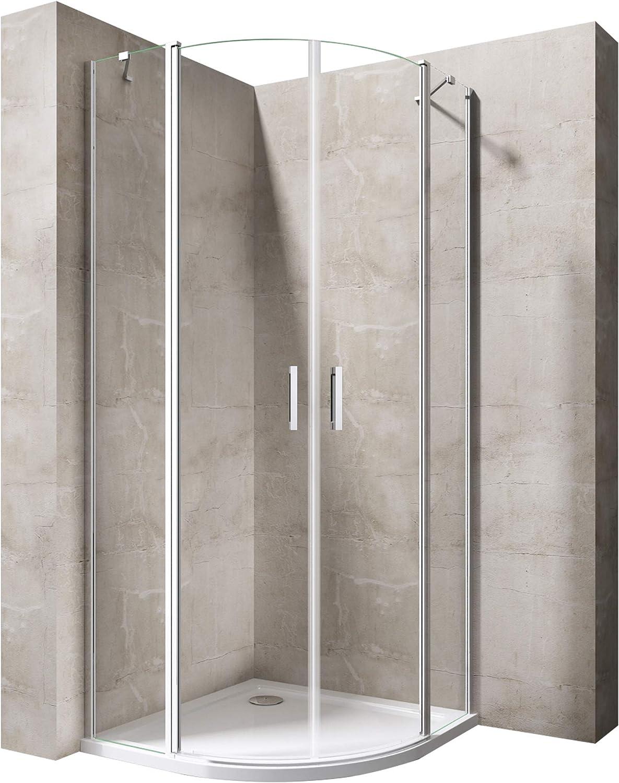 CUADRANTE de ducha 100 x 100 Mampara ravenna52 K con ducha Taza de ...