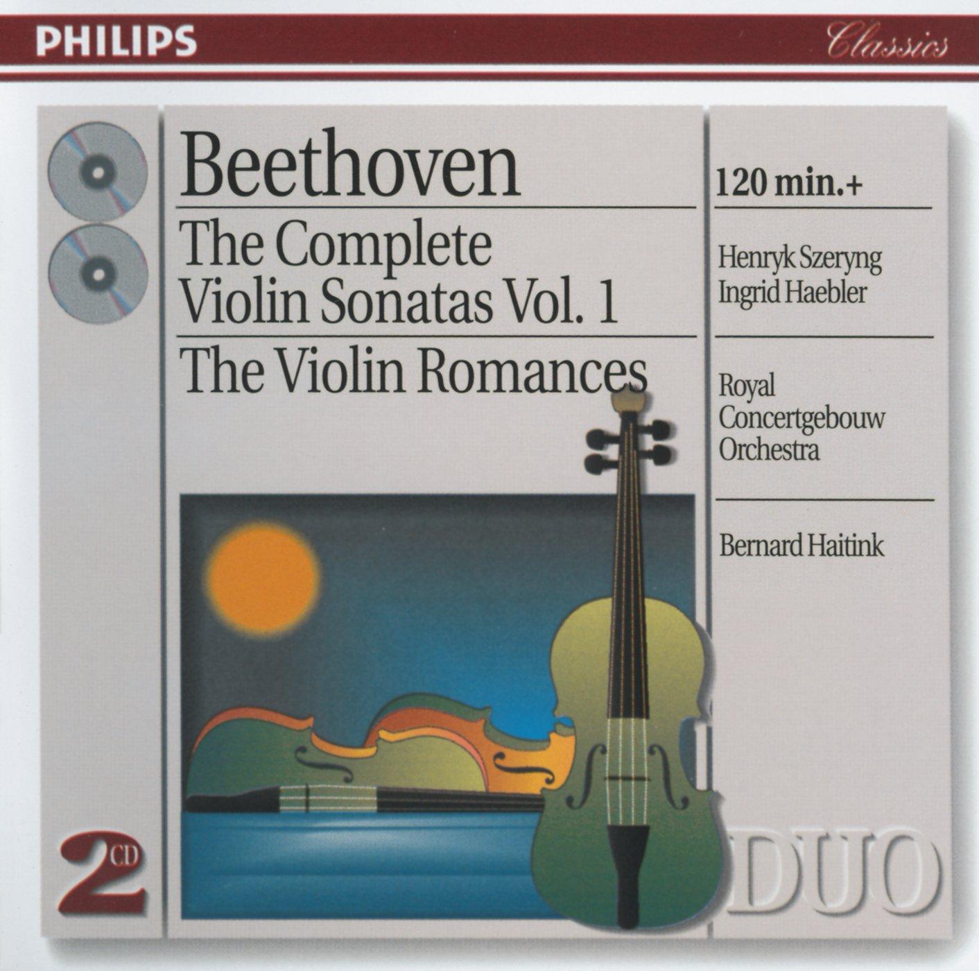Bernard Haitink - Beethoven: The Complete Violin Sonatas, Vol. 1 ...