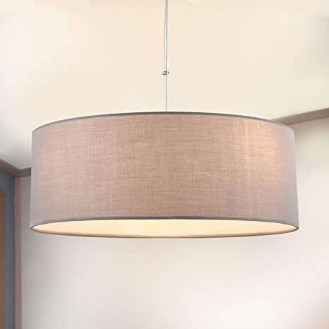detailed look 5d2b8 41db0 Amazon.com: Hanging lamp SPAKRSOR - Modern Ceiling Fabric ...