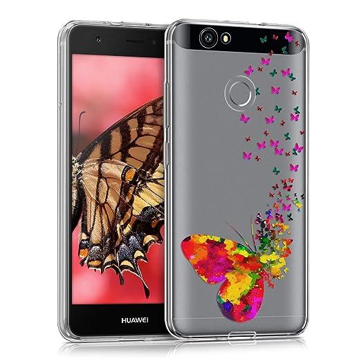 4 opinioni per kwmobile Cover per Huawei Nova- Custodia in silicone TPU- Back case protezione