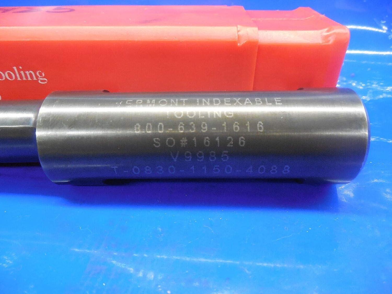 Vermont .830 SHCS Dia Back Counterbore T-0930-1150-4088 1 Shank V9985 Boring
