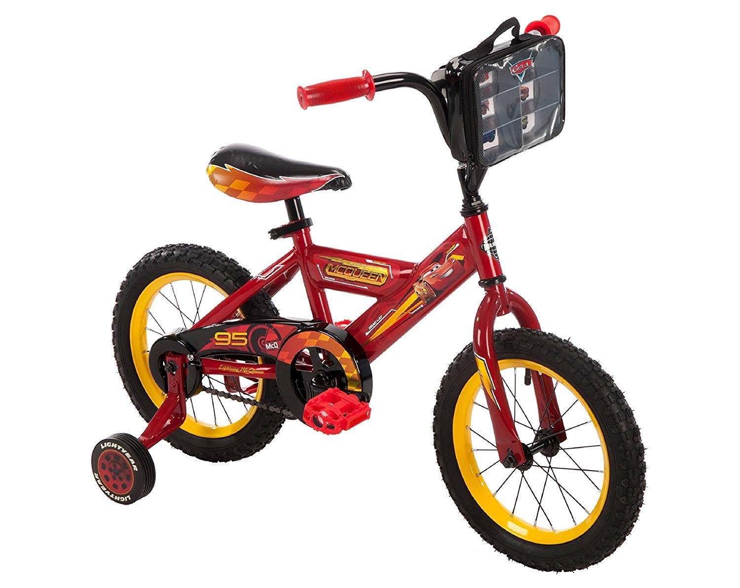 Huffy Kids Disney Cars 3 – 14 Bike – Red